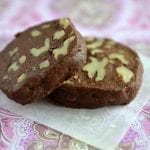 Chocolate Walnut Shortbread