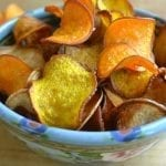 Minimal Monday: Root Veggie Kettle Chips