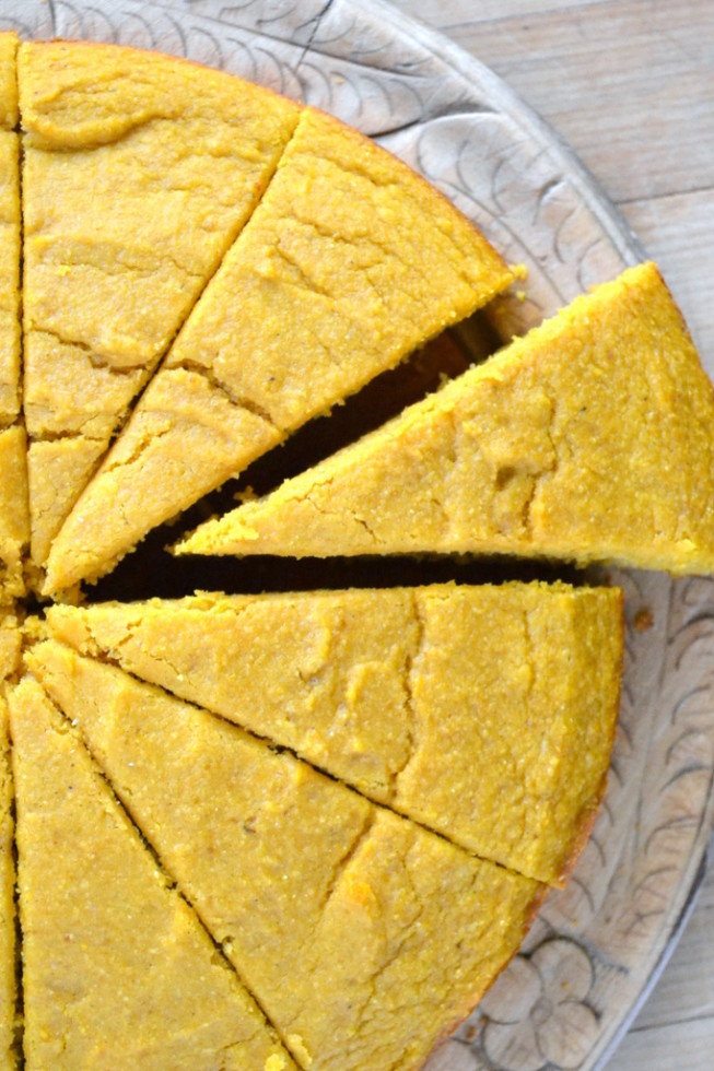 Pumpkin Cornbread - The View from Great Island