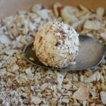 White Toasted Almond Truffles