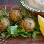 It's 5 O'Clock Somewhere Friday: Mini Green Falafel with Yogurt Tahini Sauce
