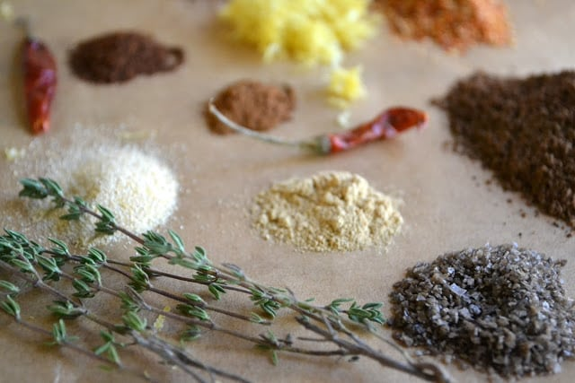 Spices for Jamaican Jerk Spiced Nuts