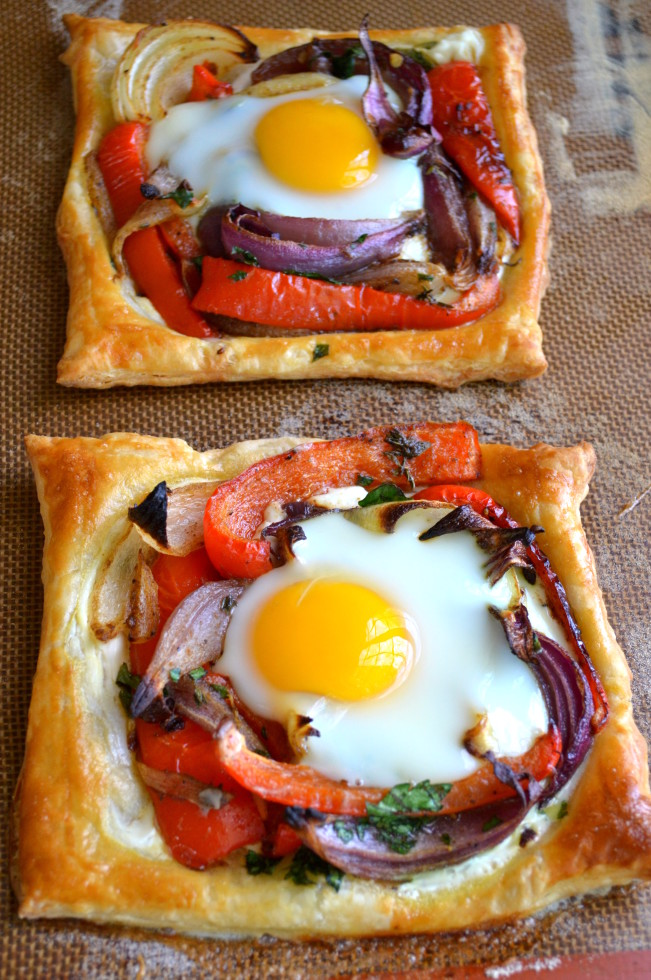 Red Pepper and Egg Galettes 2
