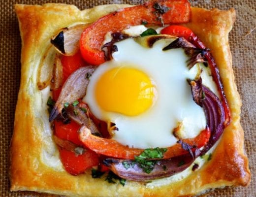 Baked Egg Galettes
