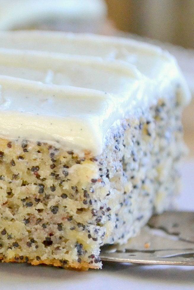 Poppy Seed Cake Recipe Layer