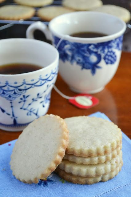 Vanilla Bean Shortbread Cookies | The View from Great Island