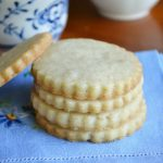 Turkish Coffee Shortbread Cookies | The View from Great Island