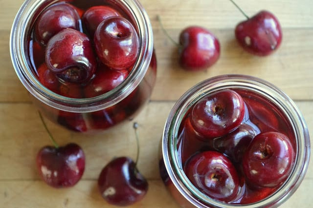 DIY Cocktail Cherries | theviewfromgreatisland.com