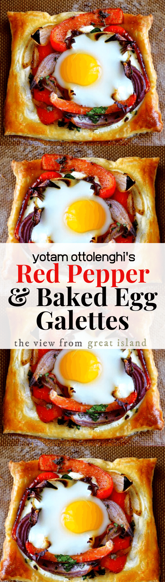 red pepper and egg galettes pin