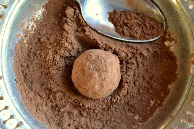 Coffee and Cardamom Truffles