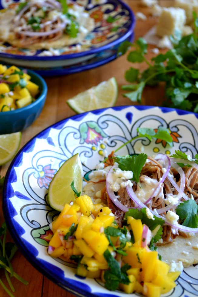 Slow Cooked Sangria Carnitas