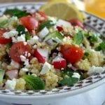 Mediterranean Millet Salad (gluten free Tabouleh)