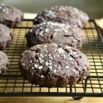 Salted Brownie Scones
