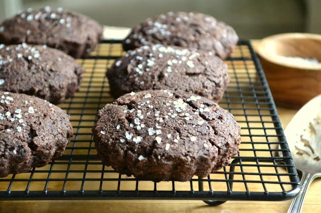 Salted Brownie Scones