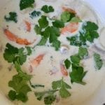 Thai Coconut Lime Soup