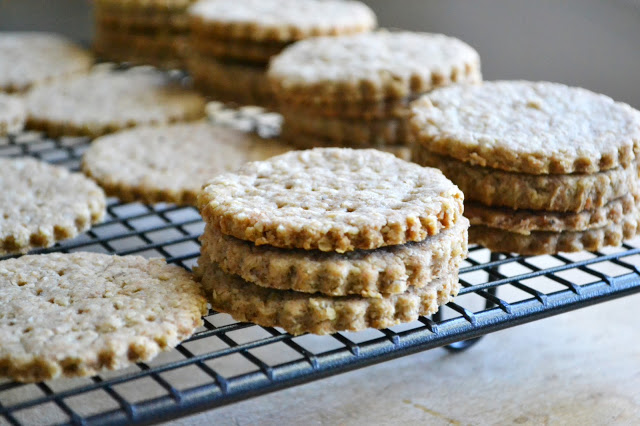 Scottish Oat and Walnut Biscuits