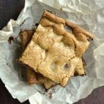 Cardamom Coffee Dirty Blondies
