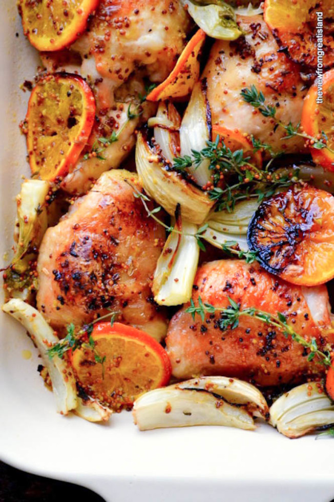 Ottolenghi's Roast Chicken with Clementines
