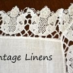 Collecting Depression Era Table Linens