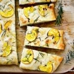 It's 5 O'Clock Somewhere Friday: Meyer Lemon and Rosemary Focaccia