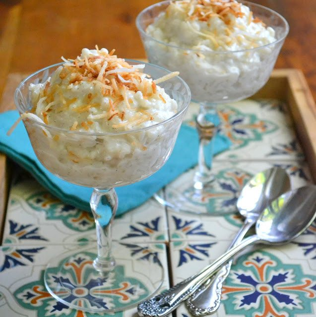 Creamy Coconut Rice Pudding (vegan or not) | The View from ...