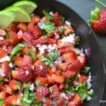 Strawberry Jalapeño Salsa