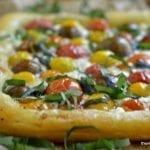 Minimal Monday: Heirloom Cherry Tomato Tart