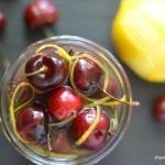 It's 5 O'Clock Somewhere Friday: Limoncello Cocktail Cherries