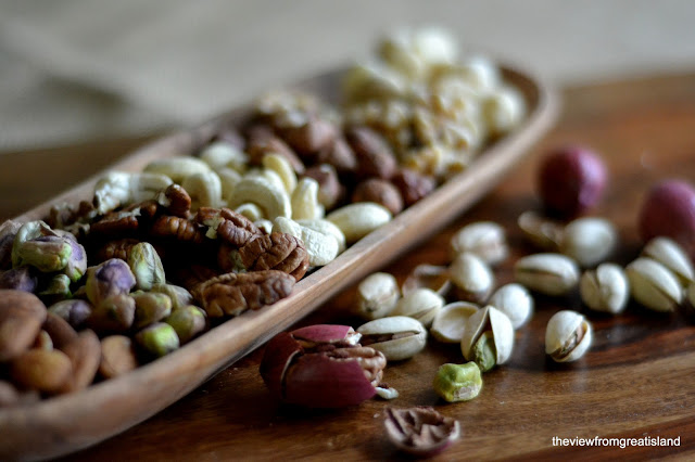 nuts for homemade granola