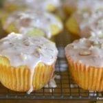 Ranier Cherry Almond Muffins