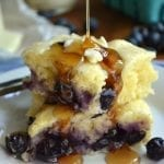Buttermilk Blueberry Pancake Squares