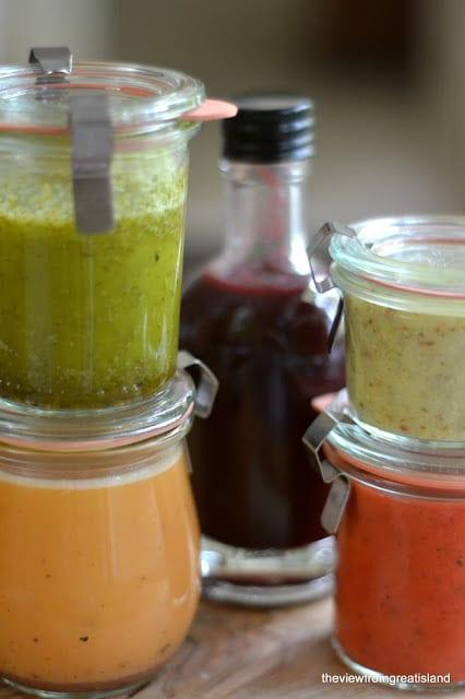 5 Fruity Salad Dressing Recipes
