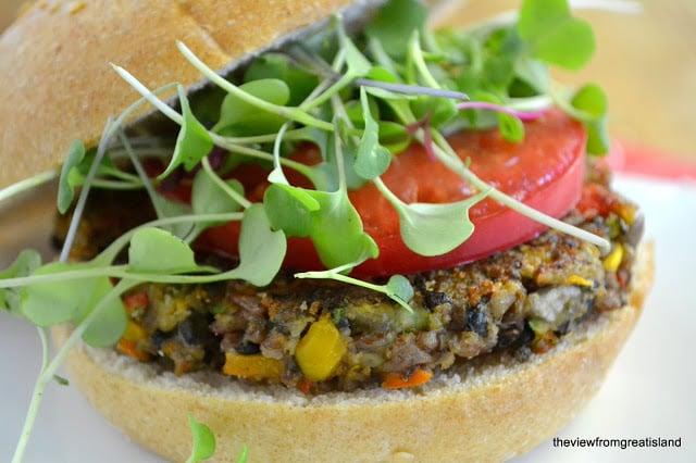 The ultimate Veggie Burger recipe!