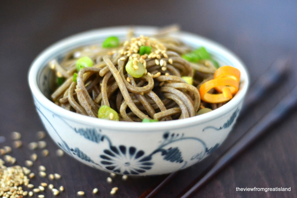 Spicy Mandarin Soba Noodles