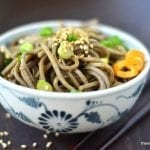 Spicy Mandarin Orange Soba Noodles
