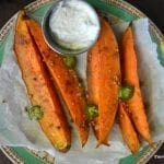 Sweet Potato Spears with Lemongrass Dip