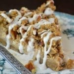 Pear Gingerbread Crumb Cake