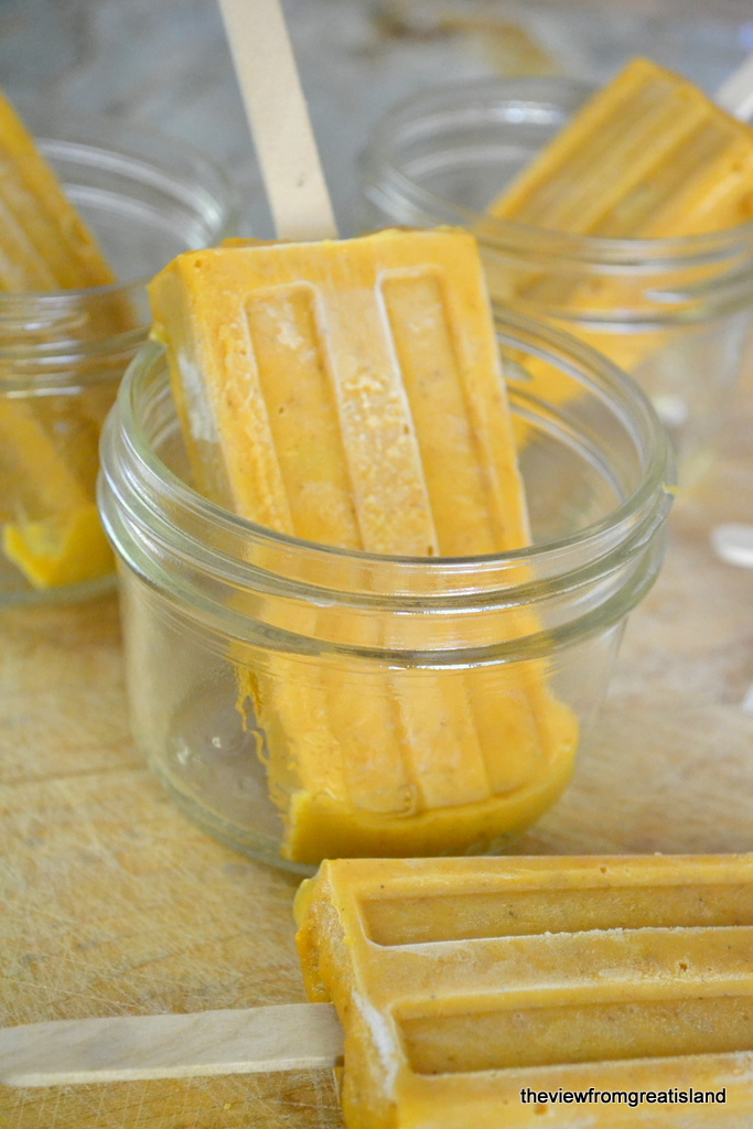 Pumpkin Pie Popsicles | The View from Great Island 2