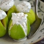 Cardamom and Brandy Poached Figs