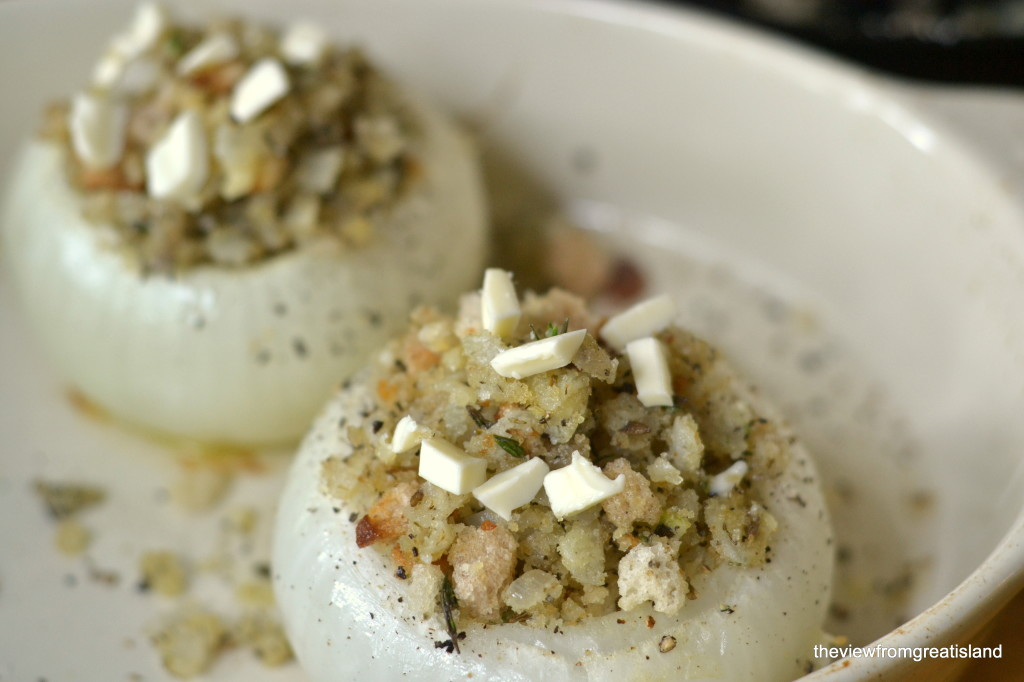 Provencal Style Baked Onions are a wonderful side dish for any meal