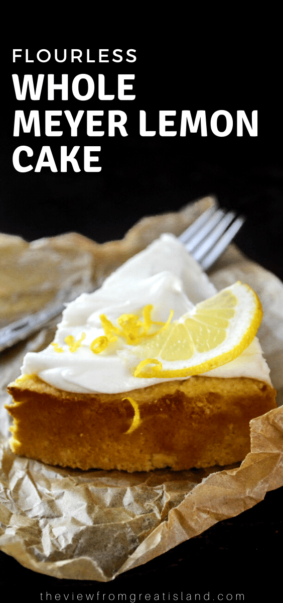 flourless lemon cake pin