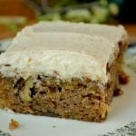 End of summer Zucchini Cake with Browned Butter Frosting