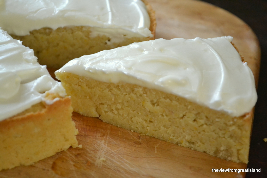 Flourless Whole Meyer Lemon Cake The View From Great Island