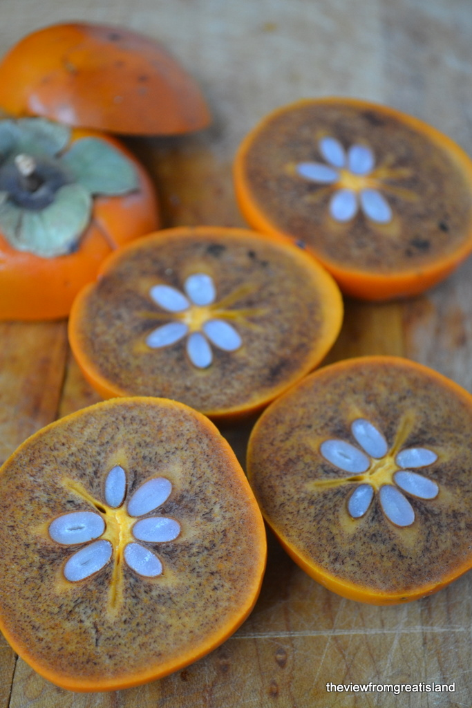 Cinnamon Fuyu Persimmons