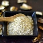 Minimal Monday: Wild Porcini Salt