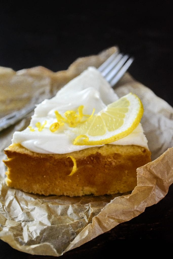 This naturally gluten free Flourless Whole Meyer Lemon cake is made with the entire lemon, peel and all, in the Mediterranean tradition, it has a tender texture and an explosive lemon flavor.
