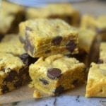 Chocolate Chip Pumpkin Shortbread