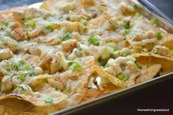 Turkey Ranch Nachos