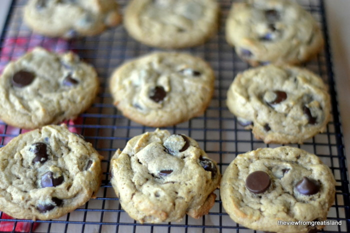 Flourless Peanut Butter Chocolate Chip Cookies, Gluten Free   The View from Great Island 6