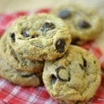 Flourless Peanut Butter Chip Cookies